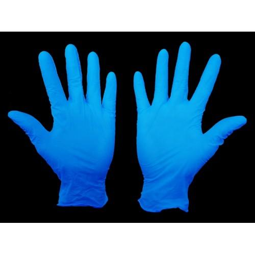 Хирургические перчатки с адгезивной полосой