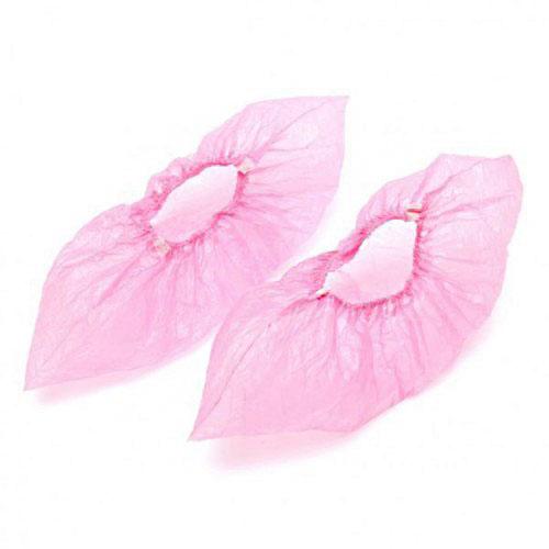 Розовые бахилы