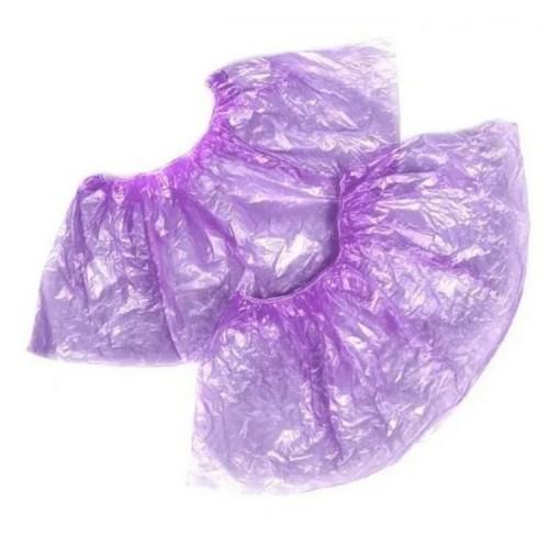Фиолетовые бахилы