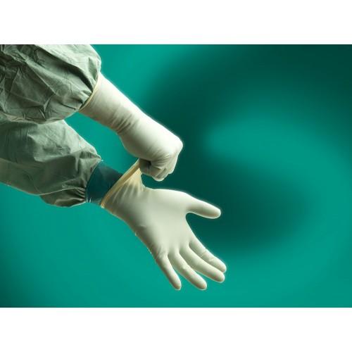 Хирургические трёхслойные перчатки