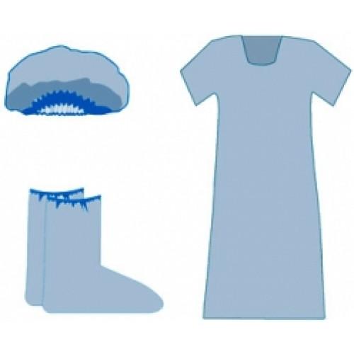 Рубашка медицинская для родов