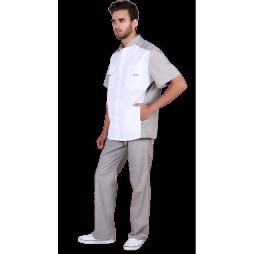 Рубашка мужская для медицинского костюма
