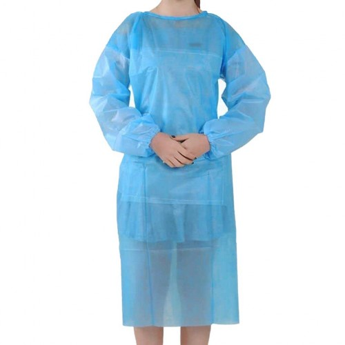 Одноразовые халаты с ламинированной рабочей поверхностью