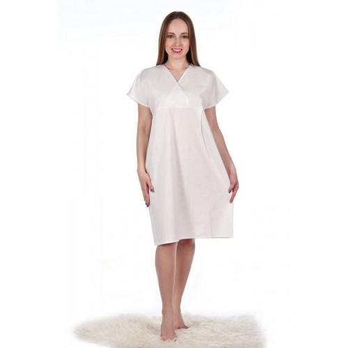 Сорочка для родов из хлопка