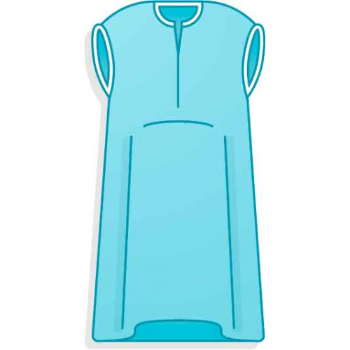 Рубашки одноразовые для родов