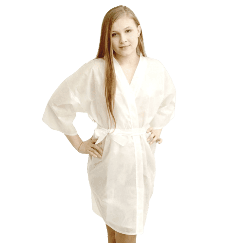 Халат кимоно с рукавами SMS (люкс)