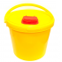 Емкость-контейнер для медицинских отходов СЗПИ класса Б желтый