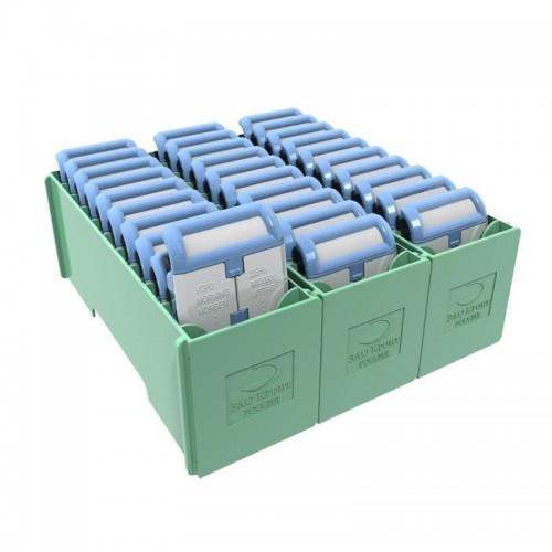 Кассетница+10 таблетниц (комплект) КРОНТ