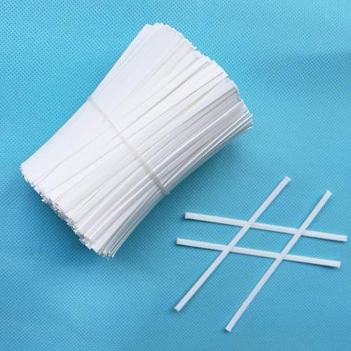 Носовой фиксатор из твист-ленты для производства медицинских масок
