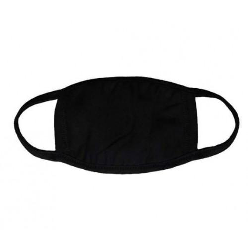 Антивирусная многоразовая маска черная