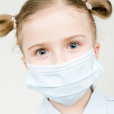 Маски медицинские трехслойные детские MadiQ