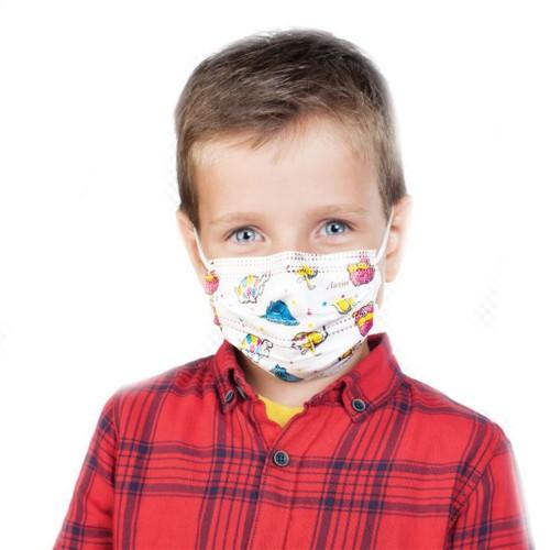 Маски одноразовые медицинские детские