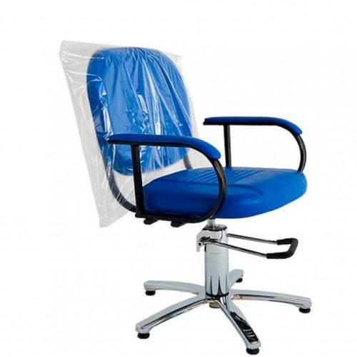 Одноразовый чехол для кресла прозрачный из полиэтилена высокого давления