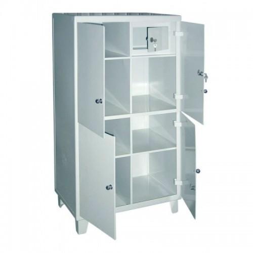 Шкаф медицинский с сейфом (трейзером) ШС-01