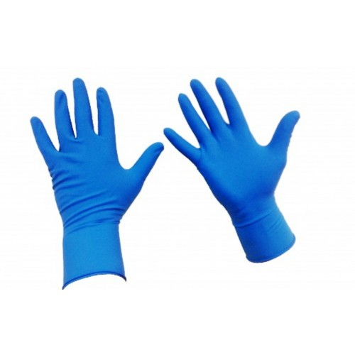 Нитриловые смотровые стерильные перчатки