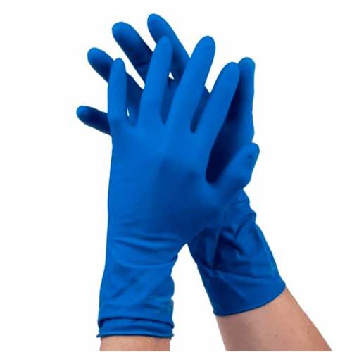 Латексные двухслойные перчатки