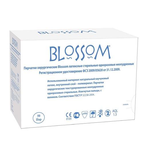 Латексные перчатки Blossom