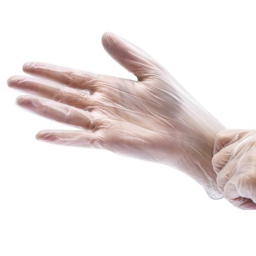 Виниловые смотровые нестерильные перчатки