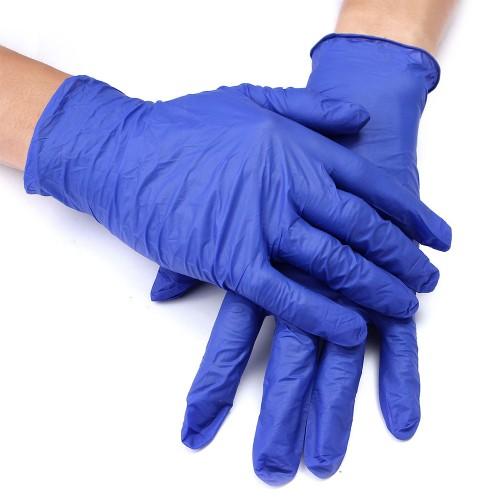 Латексные сверхпрочные перчатки с полимерным покрытием