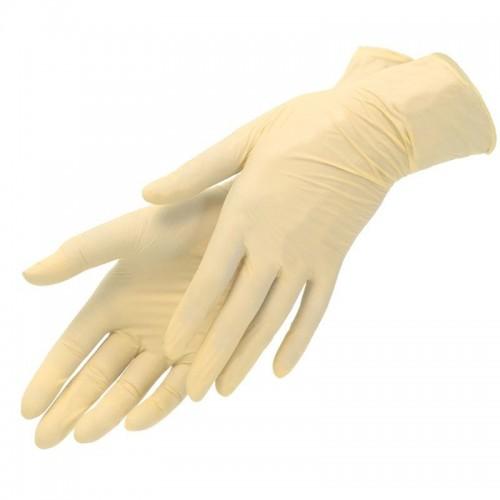 Хирургические смотровые перчатки из латекса