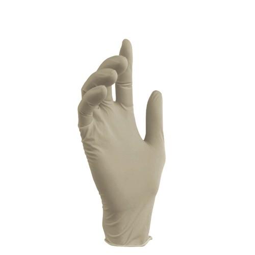 Латексные перчатки с внутренним синтетическим покрытием