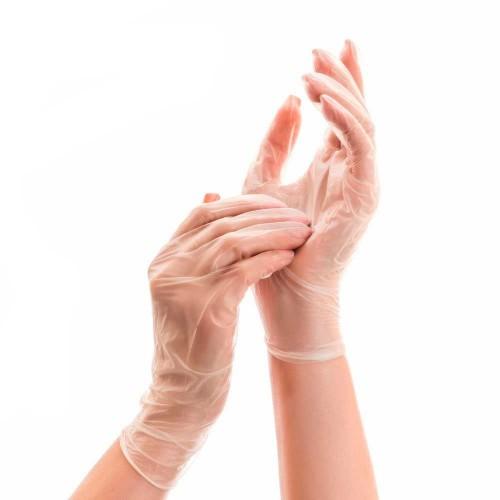 Виниловые одноразовые перчатки купить