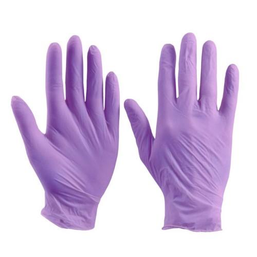Нитриловые смотровые нестерильные неопудренные перчатки