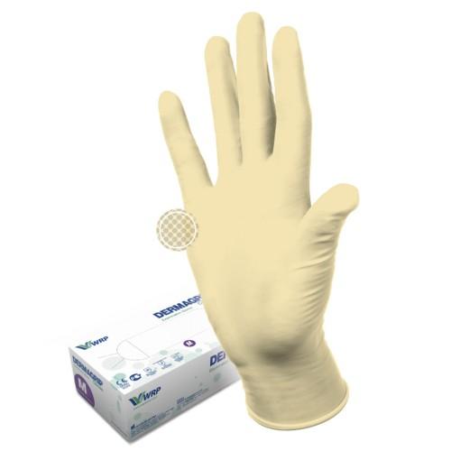 Латексные перчатки Dermagrip classic текстурированные