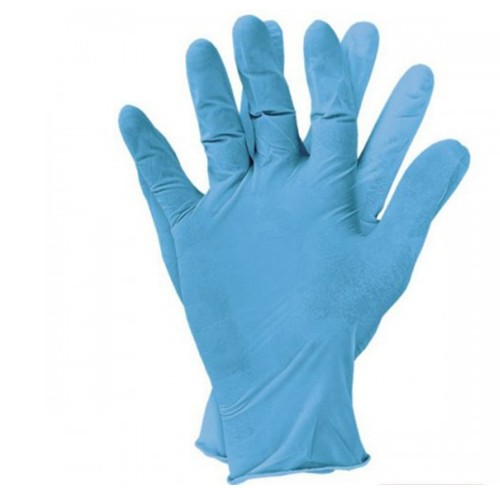 Смотровые перчатки с одинарной толщиной пальца нитриловые
