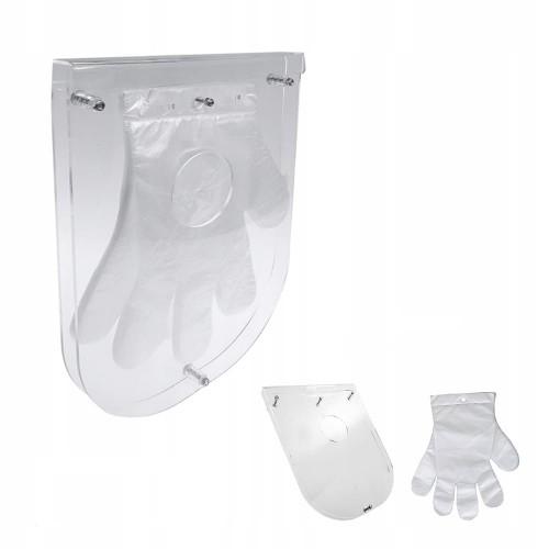 Настенный держатель для одноразовых перчаток