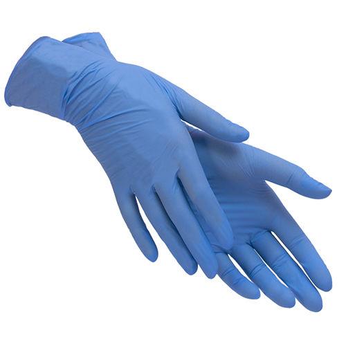 Стоматологические перчатки стерильные с полимерным покрытием