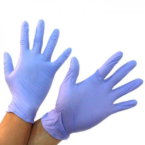 Нитриловые стерильные хирургические перчатки
