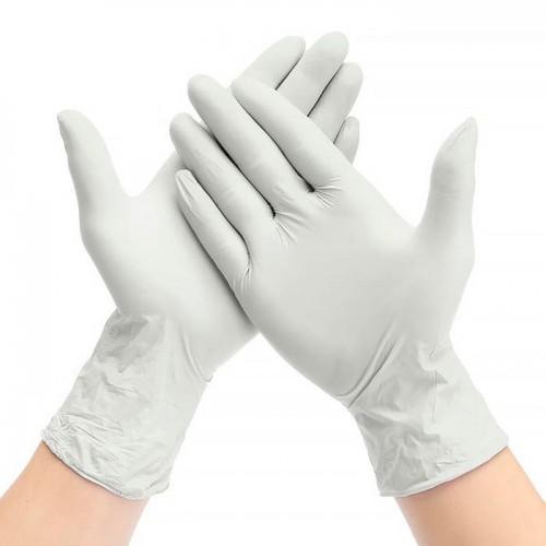 Хирургические латексные нестерильные опудренные перчатки
