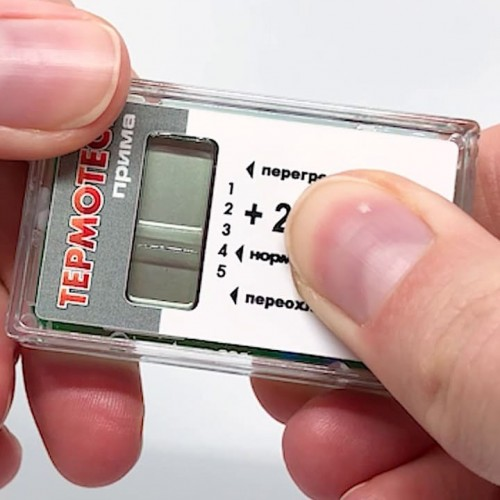 Термоиндикатор электронный Термотест Прима 2 для контроля холодовой цепи