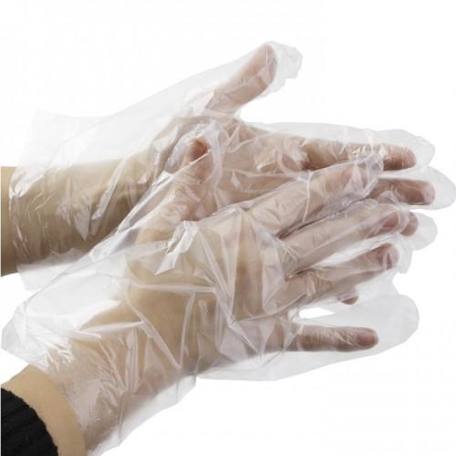 Полиэтиленовые одноразовые перчатки для упаковки