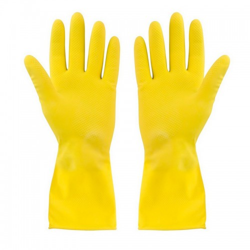 Латексные перчатки с внутренним хлопковым напылением