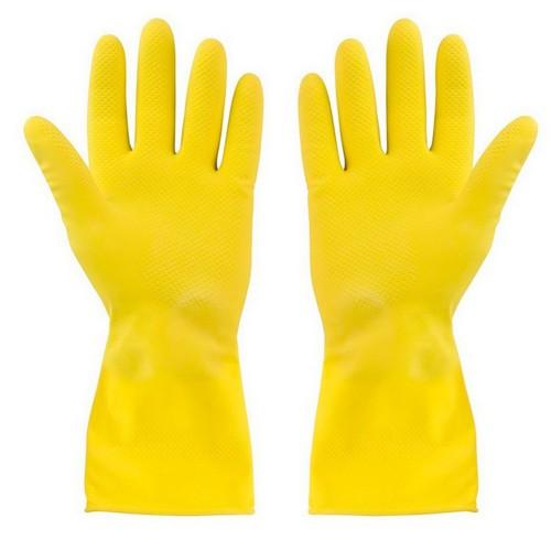 Латексные перчатки для санитарных работ