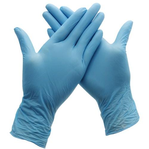Смотровые перчатки из нитрила