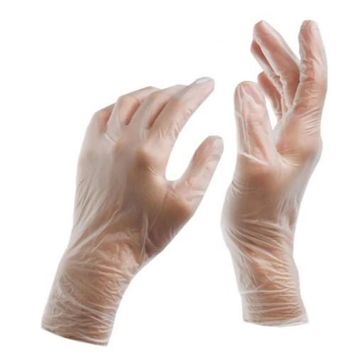 Смотровые виниловые перчатки