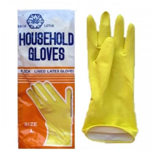 Латексные перчатки Лотос