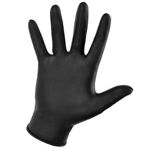 Нитриловые перчатки Disposable Gloves текстурированные