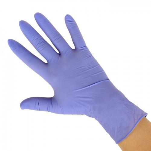 Нитриловые гипоаллергенные перчатки