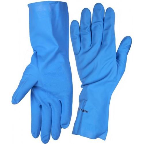 Нитриловые перчатки с хлопковым напылением