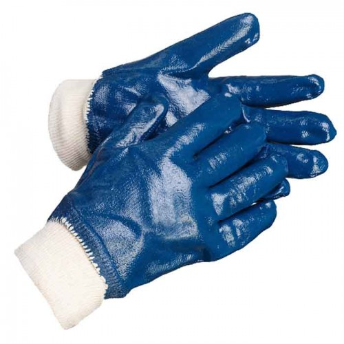 Перчатки нитриловые полный облив