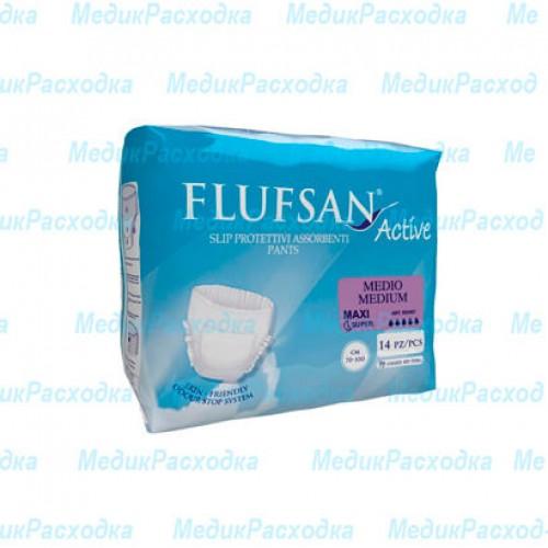 Подгузники для взрослых Flufsan Active MEDIUM MAXI