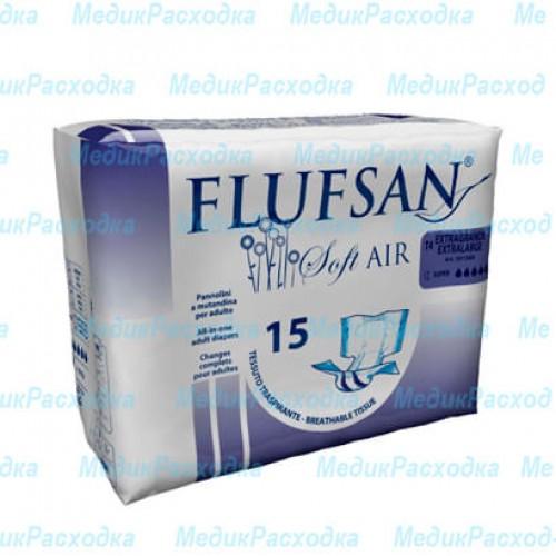 Подгузники для взрослых Flufsan Soft AIR XLARGE SUP NIGHT