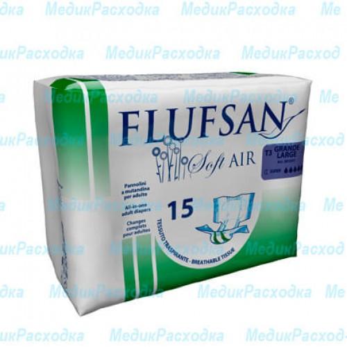 Подгузники для взрослых Flufsan Soft AIR LARGE SUP NIGHT