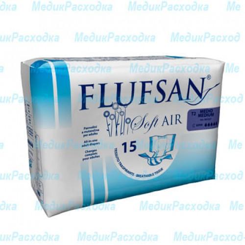 Подгузники для взрослых Flufsan Soft Air Medium Supnight