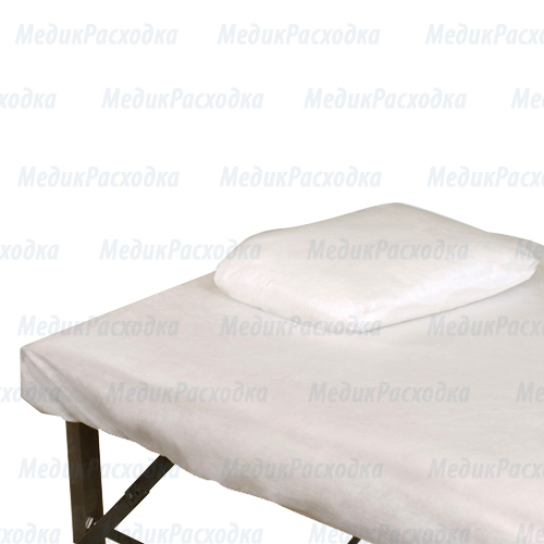 Простыня белая одноразовая 200x80
