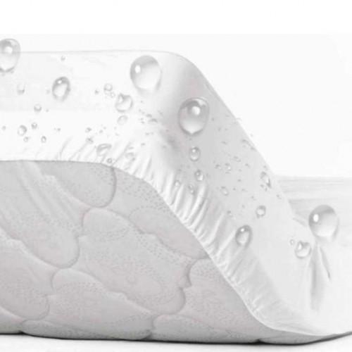 Непромокаемый наматрасник на резинке по периметру